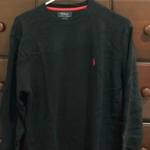 Polo Ralph Lauren Thermal Long sleeve Black Size:M